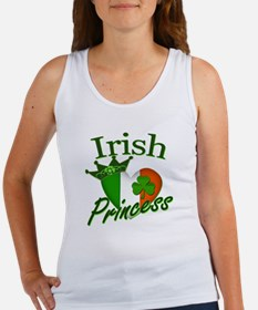 Irish Princess St Patricks Day Women's Tank Top