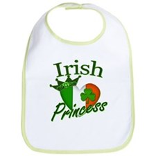 Irish Princess St Patricks Day Bib