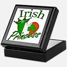 Irish Princess St Patricks Day Keepsake Box