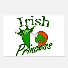 Irish Princess St Patricks Day Postcards (Package