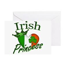 Irish Princess St Patricks Day Greeting Card