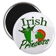 "Irish Princess St Patricks Day 2.25"" Magnet (10 pa"