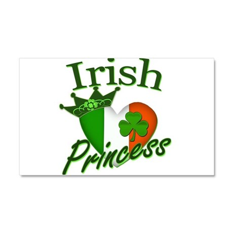Irish Princess St Patricks Day Car Magnet 20 x 12