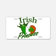 Irish Princess St Patricks Day Aluminum License Pl