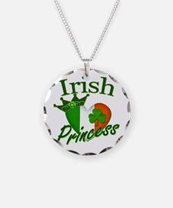 Irish Princess St Patricks Day Necklace