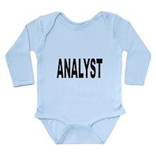 Analyst Long Sleeve Infant Bodysuit