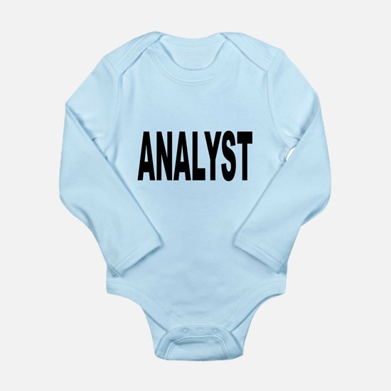 Analyst Long Sleeve Infant Bodysuit