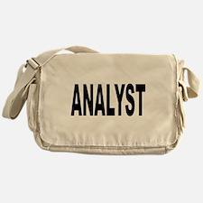 Analyst Messenger Bag