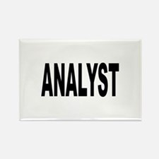Analyst Rectangle Magnet