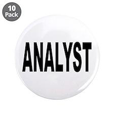 "Analyst 3.5"" Button (10 pack)"