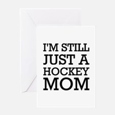 Hockey mom Sarah Palin Greeting Card