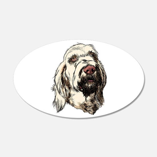 Spinone 22x14 Oval Wall Peel