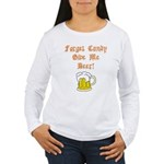 Forget Candy Women's Long Sleeve T-Shirt