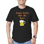 Forget Candy Men's Fitted T-Shirt (dark)