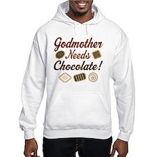 Godmother Needs Chocolate Hoodie