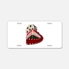theater cinema film Aluminum License Plate