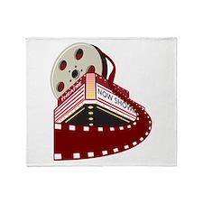theater cinema film Throw Blanket