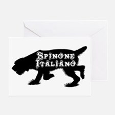 Spinone Greeting Card