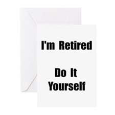 Retired Do It Yourself Greeting Cards (Pk of 20)