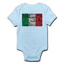 Italians Make the Best Lovers Infant Bodysuit