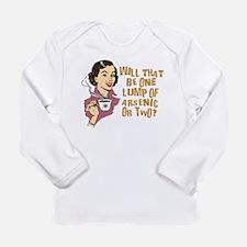 Funny Retro Coffee Humor Long Sleeve Infant T-Shir