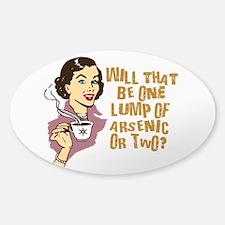 Funny Retro Coffee Humor Decal