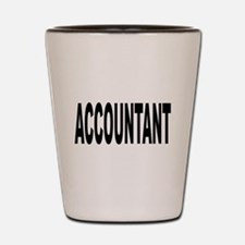 Accountant Shot Glass