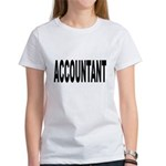 Accountant Women's T-Shirt
