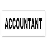 Accountant Sticker (Rectangle 10 pk)