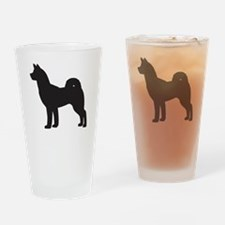 Husky Drinking Glass