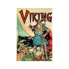 Viking Rectangle Magnet
