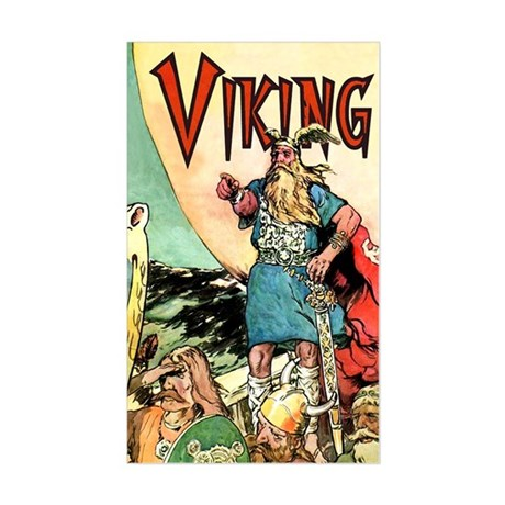 Viking Sticker (Rectangle)