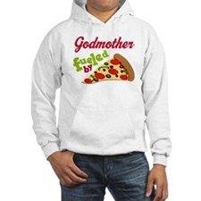 Godmother Funny PIzza Hoodie