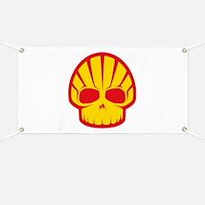 Shell Skull Banner
