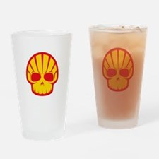 Shell Skull Drinking Glass