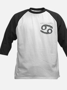 Zodiac Sign, Cancerian Kids Baseball Jersey
