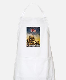 Now All Together American Flag BBQ Apron