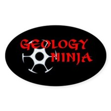 Geology Ninja Decal