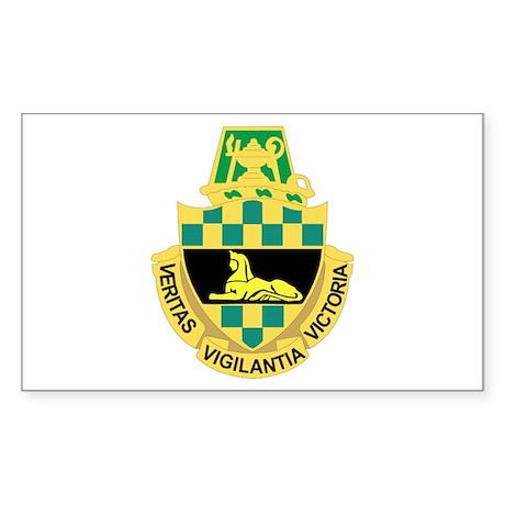 DUI - Intelligence Center/School Sticker (Rectangl