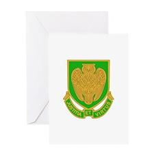 DUI - Military Police School Greeting Card