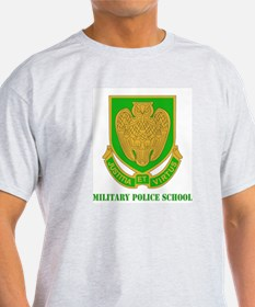 DUI - Military Police School with Text T-Shirt