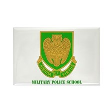 DUI - Military Police School with Text Rectangle M