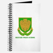 DUI - Military Police School with Text Journal