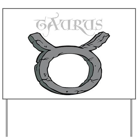 Zodiac Sign, Taurus Yard Sign
