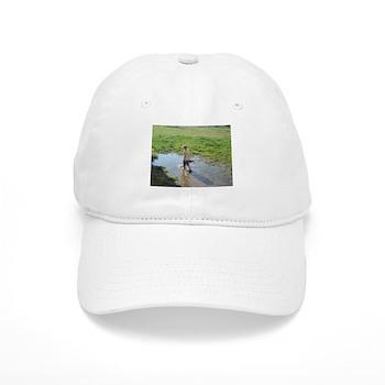 Girl splashing Cap