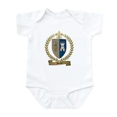POITIER Family Crest Infant Creeper