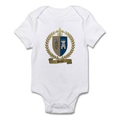 POITIER Family Crest Infant Creeper
