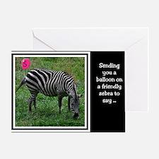 Zebra 5th Birthday