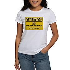 Caution Beekeeper Tee