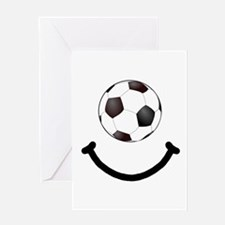 Soccer Smile Greeting Card